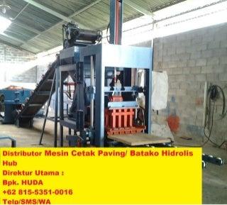 Mesin Paving Blok Terbaru +62 815-5351-0016