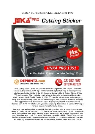 CALL/WA 0812-9766-7579 Distributor Mesin Cutting Sticker Di Malang