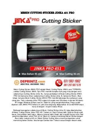 CALL/WA 0812-9766-7579 Harga Mesin Cutting Sticker Jinka