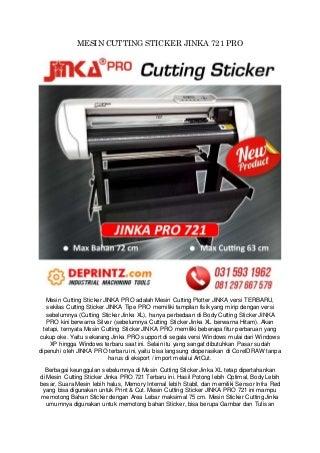CALL/WA 0812-9766-7579 Jual Mesin Cutting Sticker Di Jogja