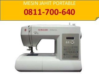 Jual Mesin Jahit Portable Area Ponorogo, 0811-700-640 (HP/WA)