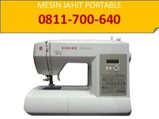 Jual Mesin Jahit Portable Jakarta, 0811-700-640 (HP/WA)