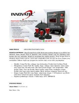 Harga Mesin Stempel Otomatis - SMS/WA 081. 8080. 300. 80 (XL)