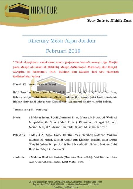 Mesir jordan aqsa