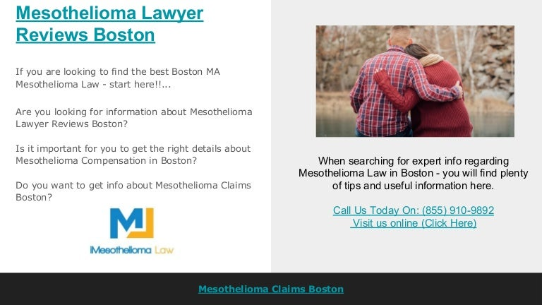 Mesothelioma Lawyer Reviews Boston
