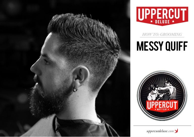 How To Grooming Messy Quiff Mens Hairstyles