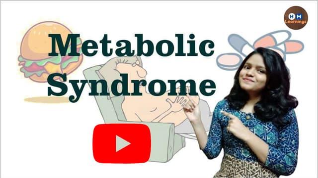 Metabolic Syndrome- Pathophysiology, Treatment I Insulin Resistance Syndrome I Endocrine Physiology