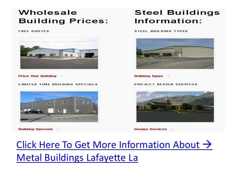 Metal Buildings Lafayette La