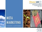 Meta marketing - PROYECTO DE AGENCIA PUBLICITARIA 1RA PARTE