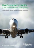 MetConsole® LLWAS (Low Level Wind Shear Alert System)