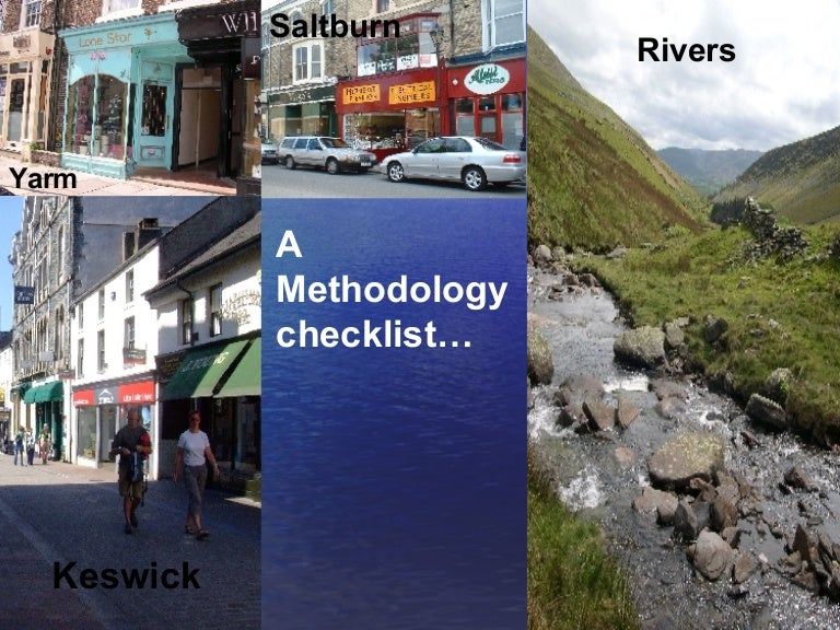 geography river coursework methodology