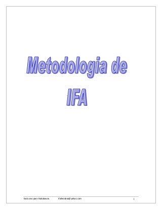 Metodologia de ifa[1]