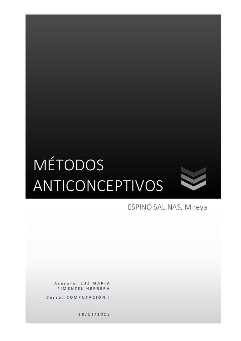 tipos de implantes anticonceptivos pdf