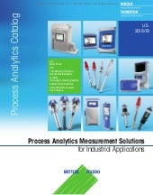 Mettler Toledo Process Analytics Catalog 2018-2019