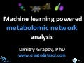 Machine Learning Powered Metabolomic Network Analysis
