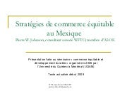 Commerce Equitable au Mexique