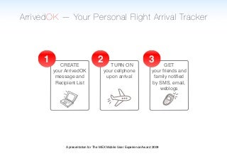 ArrivedOK - Your Personal Flight Arrival Tracker