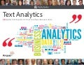 Text Analytics- 28 Quotes from Experts On How to Achieve Business Value