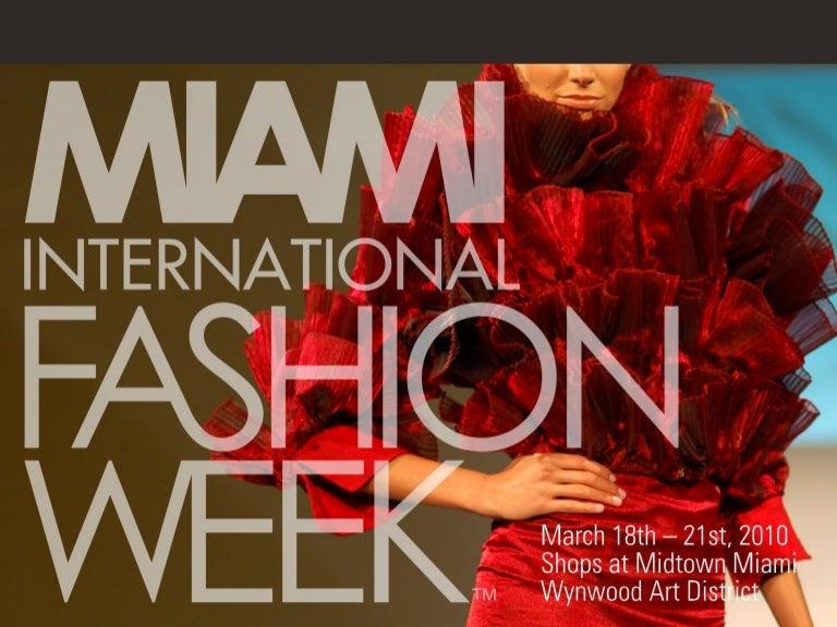 Mercedes Of Miami >> Miami International Fashion Week Sponsorship 2010 Gloss Vip