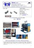 "EGG-LAYER, HYDRAULIC BLOCK MACHINE MODEL "" MIC 60 """