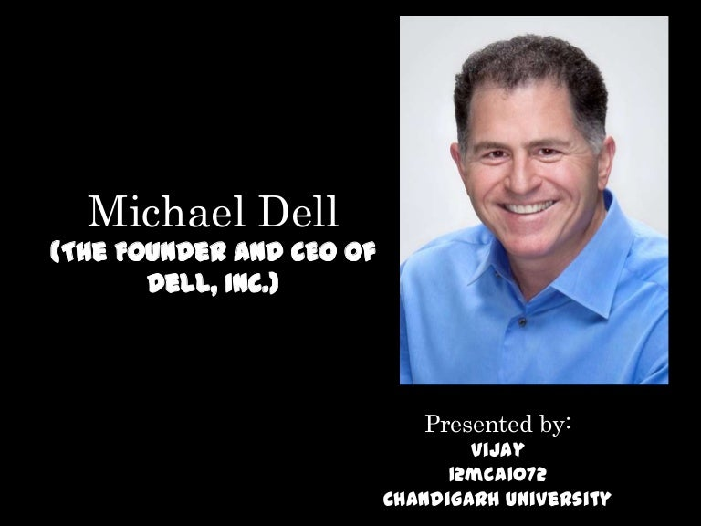 a brief biography of michael dell Michael dell started his company, dell computer corporation, when he was a college freshman in 1984 by the early 1990s, the company had exceeded $500 million in annual revenues, and dell had become the youngest ceo of a fortune 500 corporation.