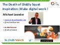 Make digital marketing work: Keynote at Adtech Asean Singapore July 2014
