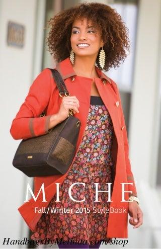 Miche Fall Winter 2015 Catalog from HandbagsByMelinda.com