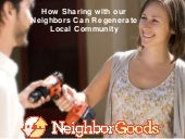How can sharing with your neighbor prepare you for a natural disaster?