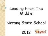 Nerang Cluster Leading From the Middle by Nerang State School