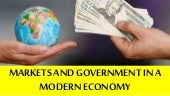 Markets and Government in a Market Economy