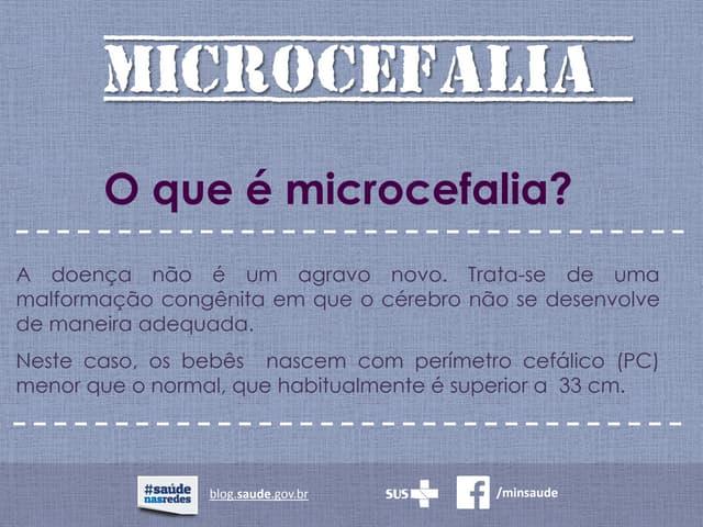 Microcefalia - Perguntas e Respostas
