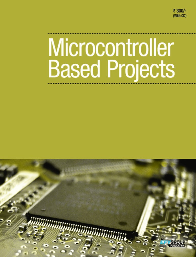 micro controller based projectsMicrocontroller Based Projects Free Download Pdf #1
