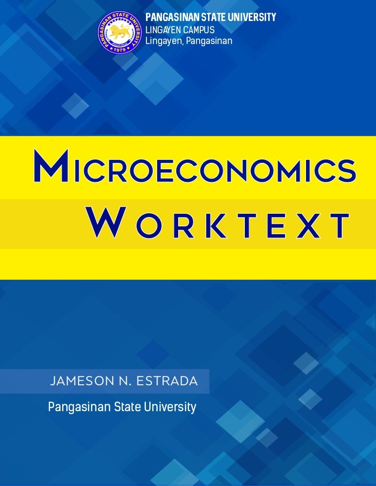 Microeconomics workbook fandeluxe Image collections