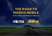 MICROS inMotion - Reimagining Mobile Restaurant Managment