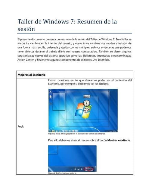 Windows 7 para Periodistas