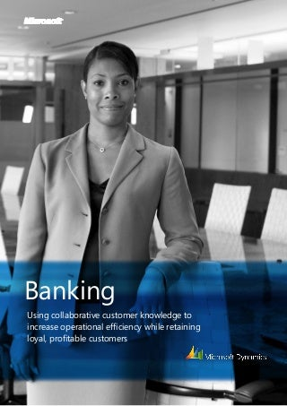 crm banking sector Customer relationship management approach is mainly a process in order to realize this process some elements are required in this process business apply crm in four stages: identification, differentiation, interaction and customization.