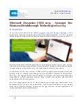 Microsoft Dynamics CRM 2015 - Amongst Ten Business Breakthrough Technologies In 2015