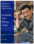 Microsoft Dynamics CRM 2016 On Premise - Cloud Volume License Guide - May 2016