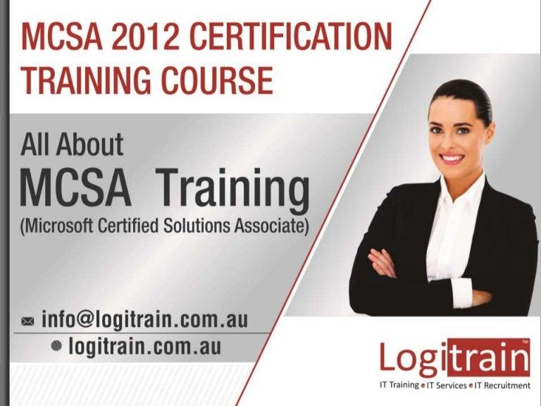Microsoft Mcsa 2012 Certification Training Course In Australia