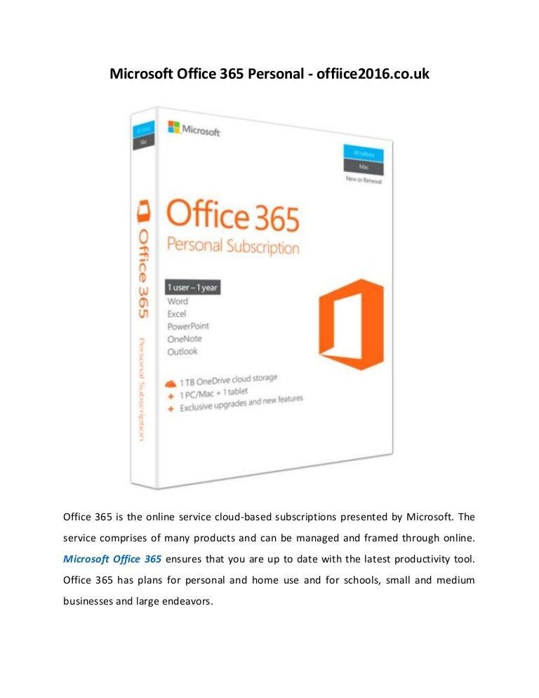 Office 2016 For Mac Uk
