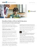 Case Study: Microsoft OneNote Strikes a Chord with Educators