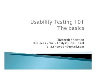 Usability phd thesis