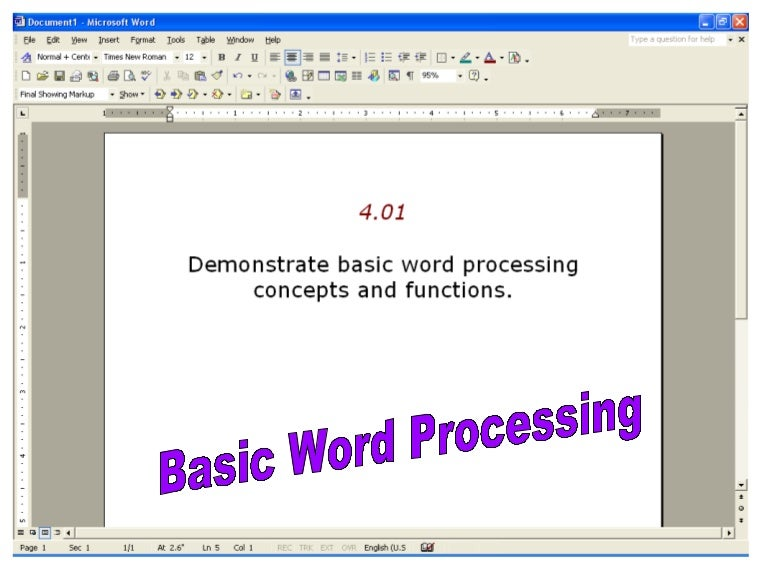 microsoft word basics ppt, Powerpoint templates