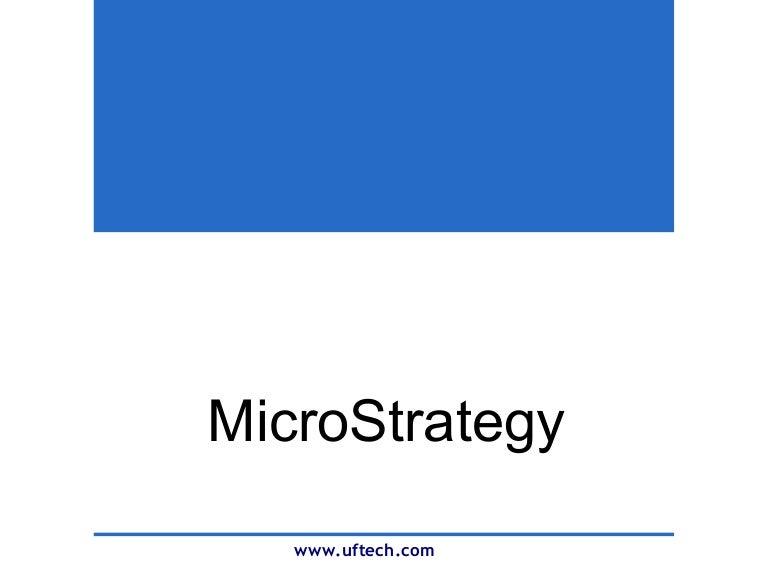 Microstrategy Company