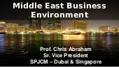 Middle East Business Environment