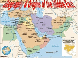 Middle east geography ppt