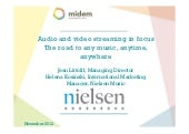 Audio and Video Streaming in focus – Exclusive Nielsen white paper