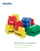 Social Media in companies - full research report