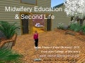 Midwifery education & Second Life