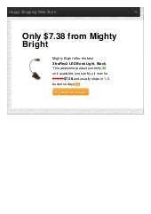Mighty bright offer the best xtraflex2 led book light black only 738 reviews